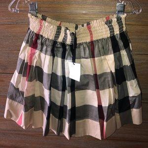 Brand New 100% Authentic Girls Burberry Skirt